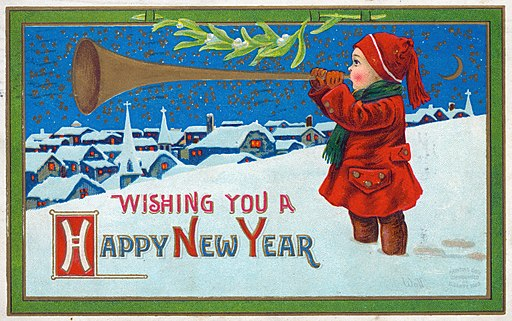 Image Happy New Year, https://commons.wikimedia.org/wiki/File:%22Wishing_You_a_Happy_New_Year.%22.jpg